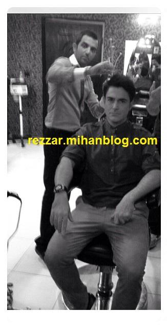 عکسهای محمدرضا گلزار در آرایشگاه آذرماه 92