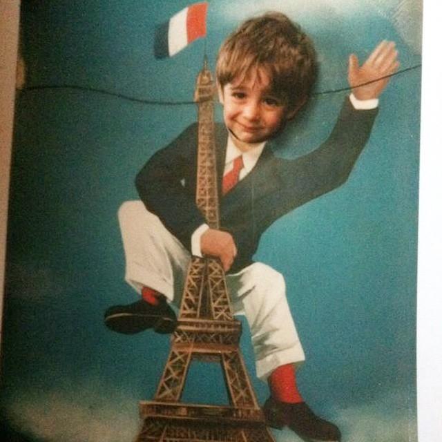 محمدرضا گلزار در کودکی