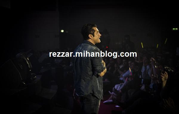 محمدرضا گلزار در کنسرت زانیار